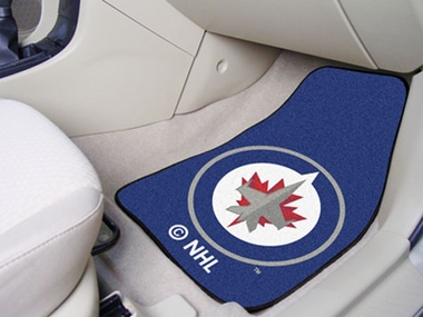 Winnipeg Jets 2 Piece Car Mats