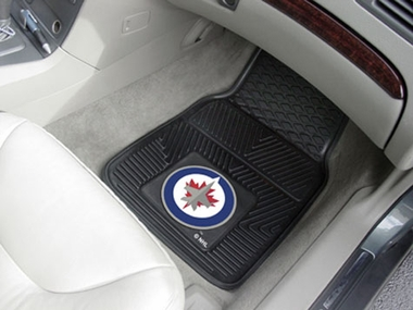 Winnipeg Jets 2 Piece Heavy Duty Vinyl Car Mats