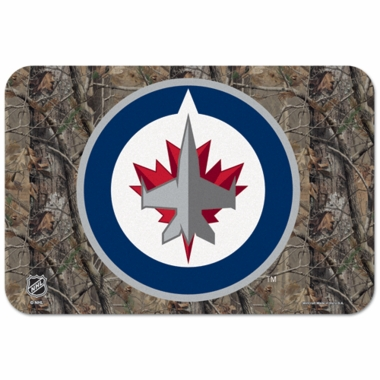 Winnipeg Jets 20 x 30 Mat (Realtree)