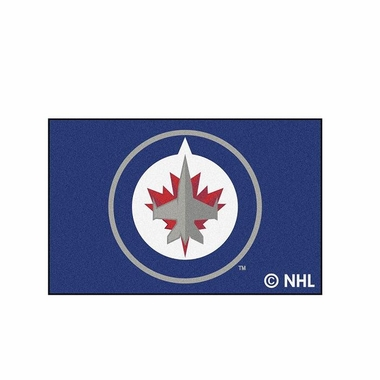 Winnipeg Jets 20 x 30 Rug