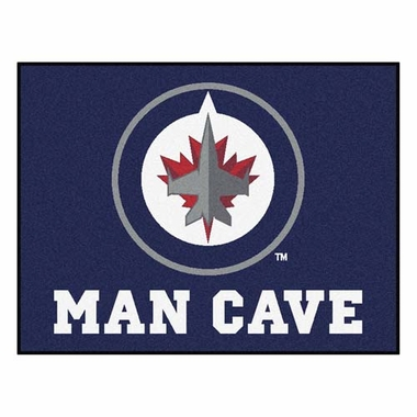 Winnipeg Jets 34 x 45 Man Cave Rug