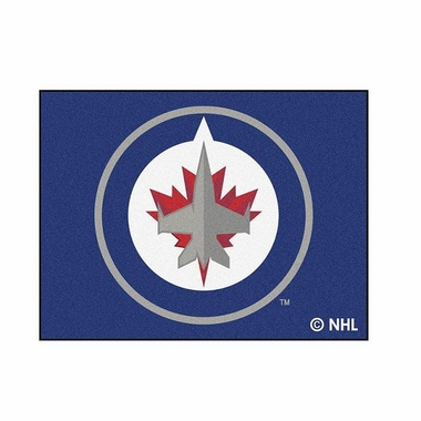 Winnipeg Jets 34 x 45 Rug