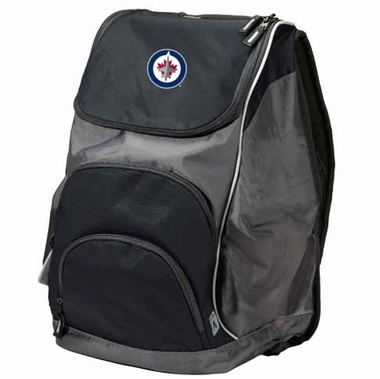 Winnipeg Jets Action Backpack (Color: Black)
