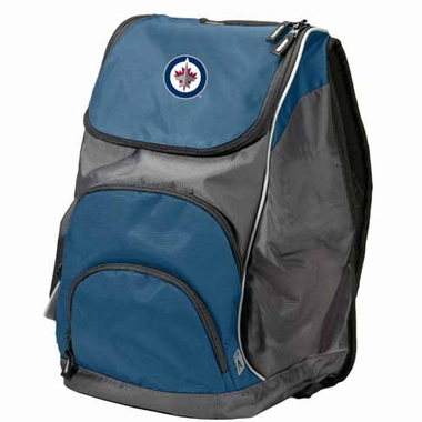 Winnipeg Jets Action Backpack (Color: Navy)