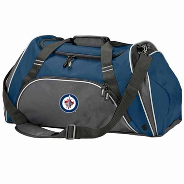 Winnipeg Jets Action Duffle (Color: Navy)