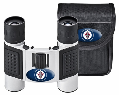 Winnipeg Jets Binoculars and Case