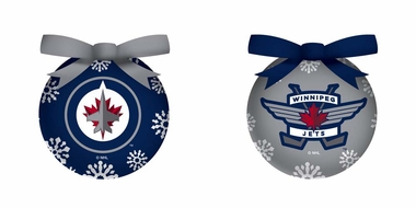 Winnipeg Jets Boxed LED Ornament Set