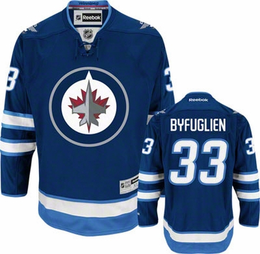 Winnipeg Jets Dustin Byfuglien Team Color Premier Jersey