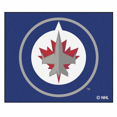 Winnipeg Jets Economy 5 Foot x 6 Foot Mat