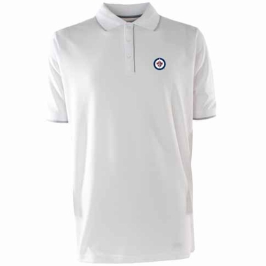 Winnipeg Jets Elite Polo Shirt (White Color)