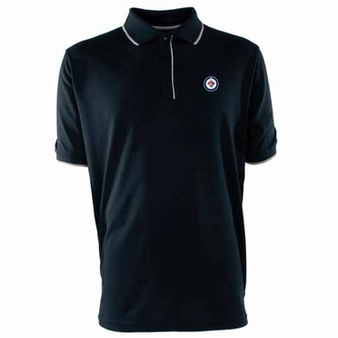 Winnipeg Jets Mens Elite Polo Shirt (Team Color: Navy)