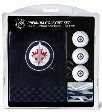 Winnipeg Jets Embroidered Towel Gift Set