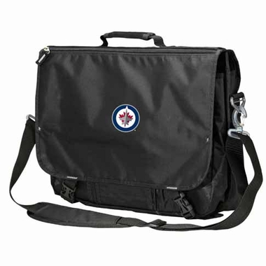Winnipeg Jets Executive Attache Messenger Bag