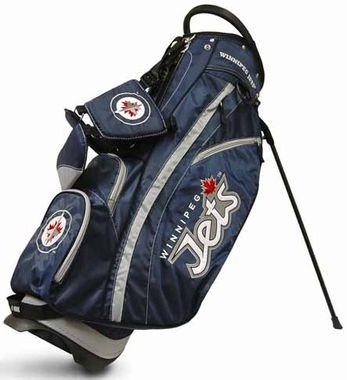 Winnipeg Jets Fairway Stand Bag