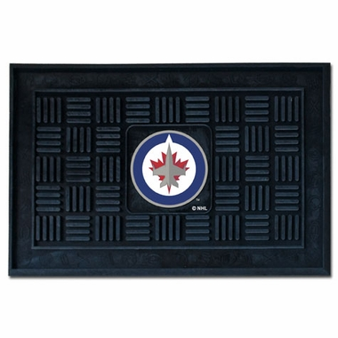 Winnipeg Jets Heavy Duty Vinyl Doormat