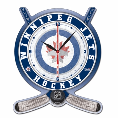 Winnipeg Jets High Definition Wall Clock