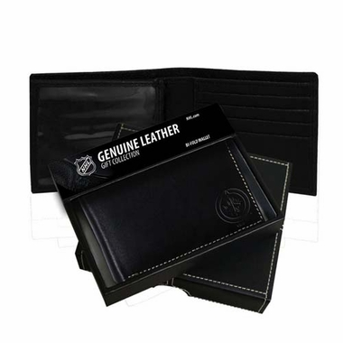 Winnipeg Jets Leather Bi-fold Wallet