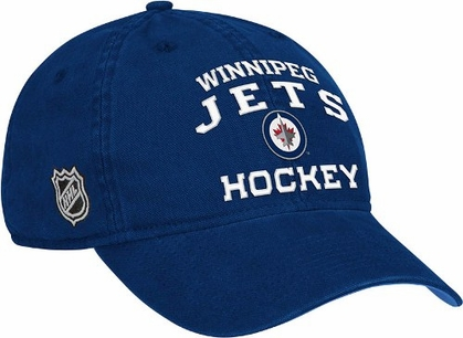 Winnipeg Jets Locker Room Team Slouch Adjustable Hat