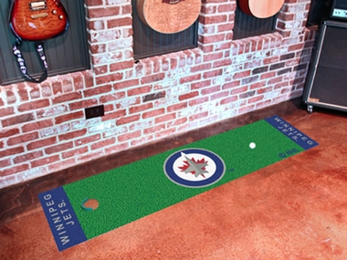 Winnipeg Jets Putting Green Mat