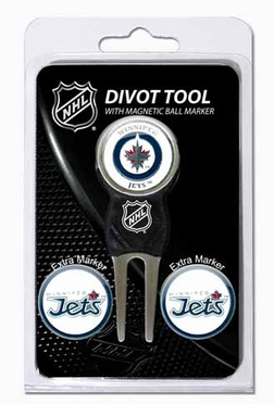Winnipeg Jets Repair Tool and Ball Marker Gift Set