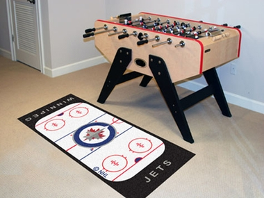 Winnipeg Jets Rink Runner Rug