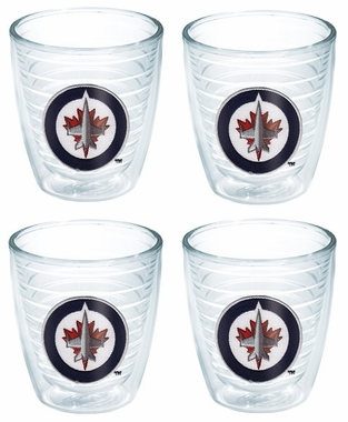 Winnipeg Jets Set of FOUR 12 oz. Tervis Tumblers
