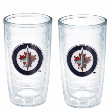 Winnipeg Jets Set of TWO 16 oz. Tervis Tumblers