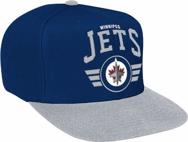 Winnipeg Jets Stadium Throwback Snapback Hat