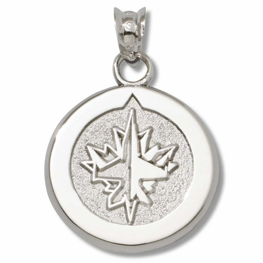 Winnipeg Jets Sterling Silver Pendant