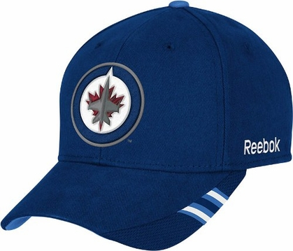 Winnipeg Jets Structured Adjustable Third Jersey Logo Hat