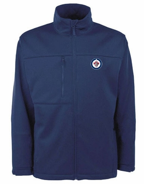 Winnipeg Jets Mens Traverse Jacket (Team Color: Navy)