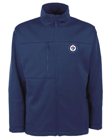 winnipeg jets mens traverse jacket color navy x large