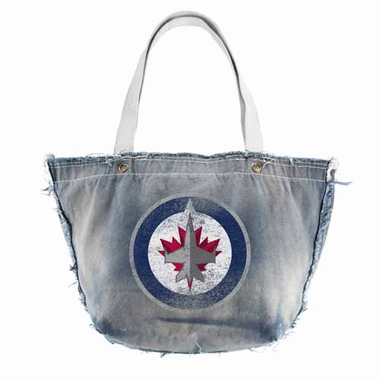 Winnipeg Jets Vintage Tote (Denim)