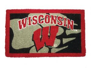 Wisconsin 18x30 Bleached Welcome Mat