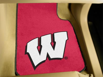 Wisconsin 2 Piece Car Mats