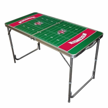 Wisconsin 2 x 4 Foot Tailgate Table