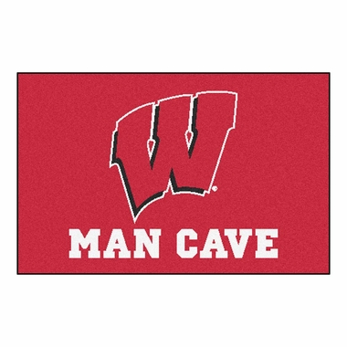 Wisconsin 20 x 30 Man Cave Rug