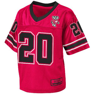 Wisconsin 2011 Toddler Stadium Football Jersey - 4T