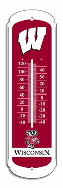 Wisconsin 27 Inch Outdoor Thermometer (P)