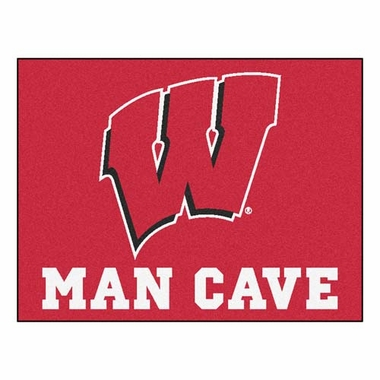 Wisconsin 34 x 45 Man Cave Rug