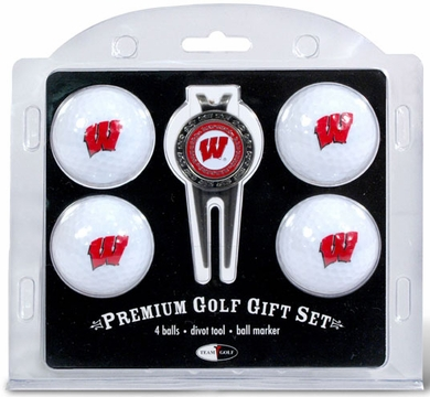 Wisconsin 4 Ball and Tool Gift Set