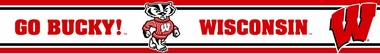 Wisconsin 5.5 Inch (Height) Wallpaper Border