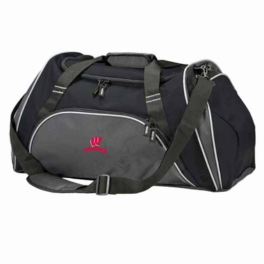 Wisconsin Action Duffle (Color: Black)