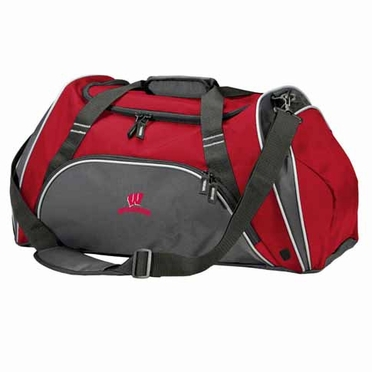 Wisconsin Action Duffle (Color: Red)