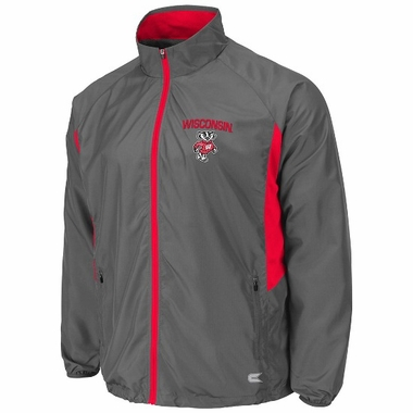 Wisconsin Adrenaline Charcoal Full Zip Jacket