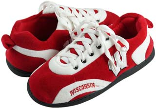 Wisconsin All Around Sneaker Slippers - Large