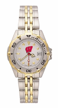 Wisconsin All Star Womens (Steel Band) Watch