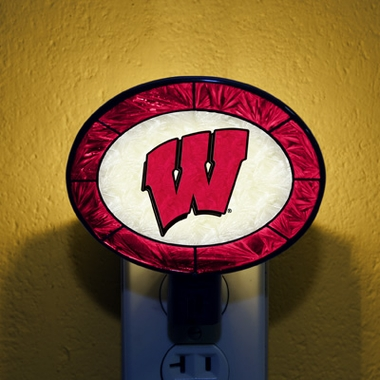 Wisconsin Art Glass Night Light