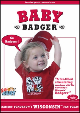 Wisconsin Baby Badger DVD