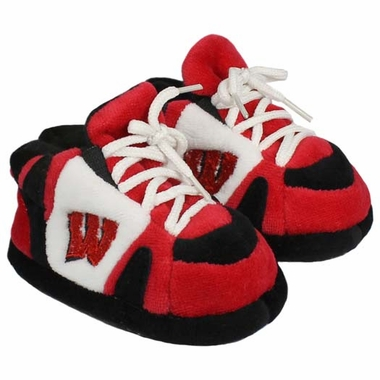 Wisconsin Baby Slippers